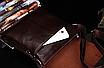 Мужская сумка барсетка Bandicoot Средняя Коричневый, фото 6