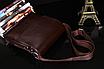 Мужская сумка барсетка Bandicoot Средняя Коричневый, фото 7