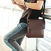 Мужская сумка барсетка Bandicoot Средняя Коричневый, фото 2