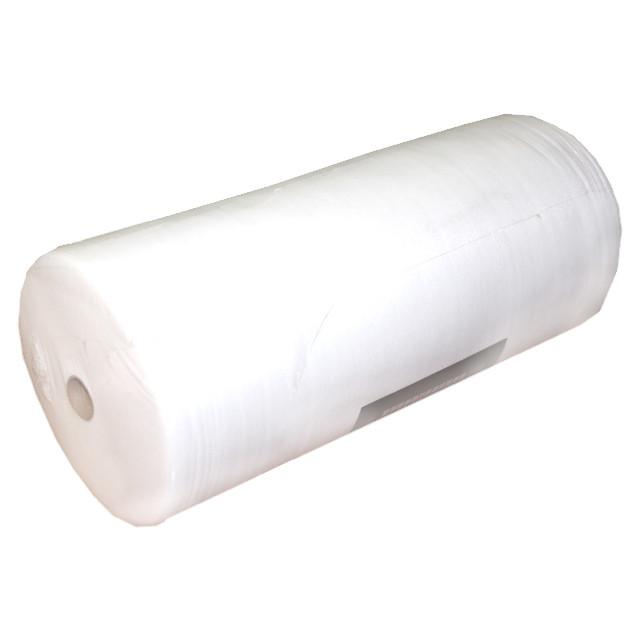 Салфетки одноразовые безворсовые 20х20 см - 100 штук в рулоне
