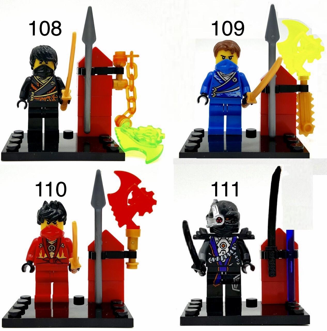 Новые Минифигурки ниндзяго ninjago Лего Lego Гармадон брелок фигурки дяпчики кай зейн ллойд Ниа Коул ниндроид