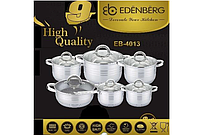 Набор кастрюль Edenberg EB-4013 (12 предметов)