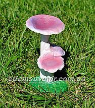 Садовая фигура Бледные поганки, Сыроежки и Суслик в норе, фото 3
