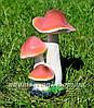 Садовая фигура Бледные поганки, Сыроежки и Суслик в норе, фото 2