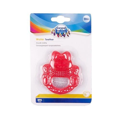 Прорезыватель для зубов Canpol Babies Кролик, красный (2/205)