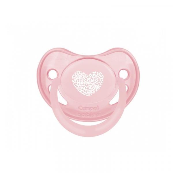 Силиконовая анатомическая пустышка Canpol Babies Pastelove, розовый, 18+ мес. (22/421)