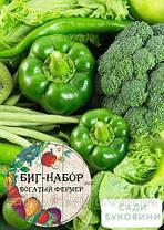 Биг-набор овощей 'Зеленая грядка' 'Богатый фермер' (в коробке) ТМ 'Весна' 60 уп