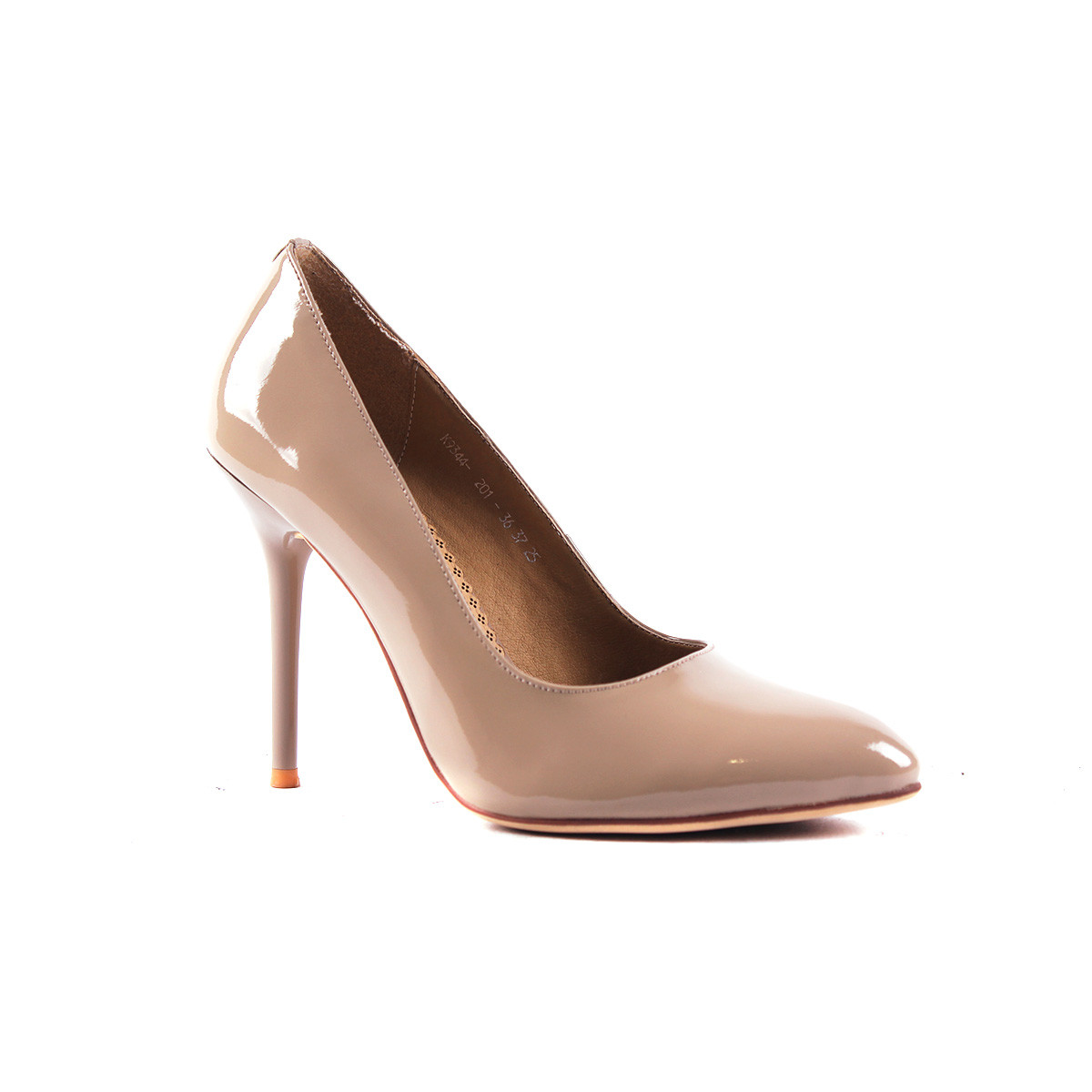 Туфли-лодочки пастельного цвета