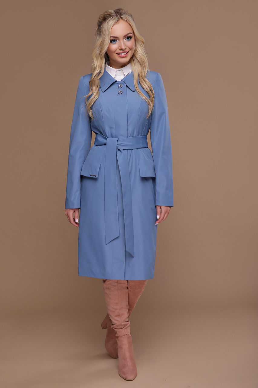 e1a746b1f1a2 Плащ женский,демисезонный,джинс - AnnaskoStyle стильная женская одежда от  современных дизайнеров в Львовской