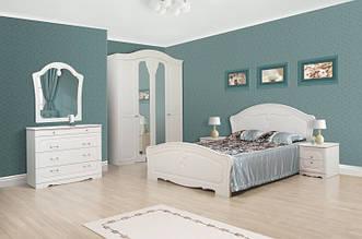 Спальня ЛУЇЗА 4Д біла (Світ Меблів)