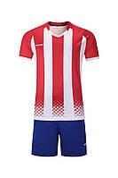 Футбольная форма игровая Europaw 020 (красно-белая), фото 1