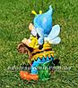 Садовая фигура Гном кузнец и Мотылек Кузя, фото 6