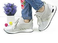 ЖЕНСКИЕ СТИЛЬНЫЕ СЕРЕБРИСТЫЕ КРОССОВКИ 1036 (кросовки спортивне взуття  жіночі стильні) b3f198e8e6826