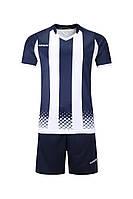 Футбольная форма игровая Europaw 020 (т.сине-белая), фото 1
