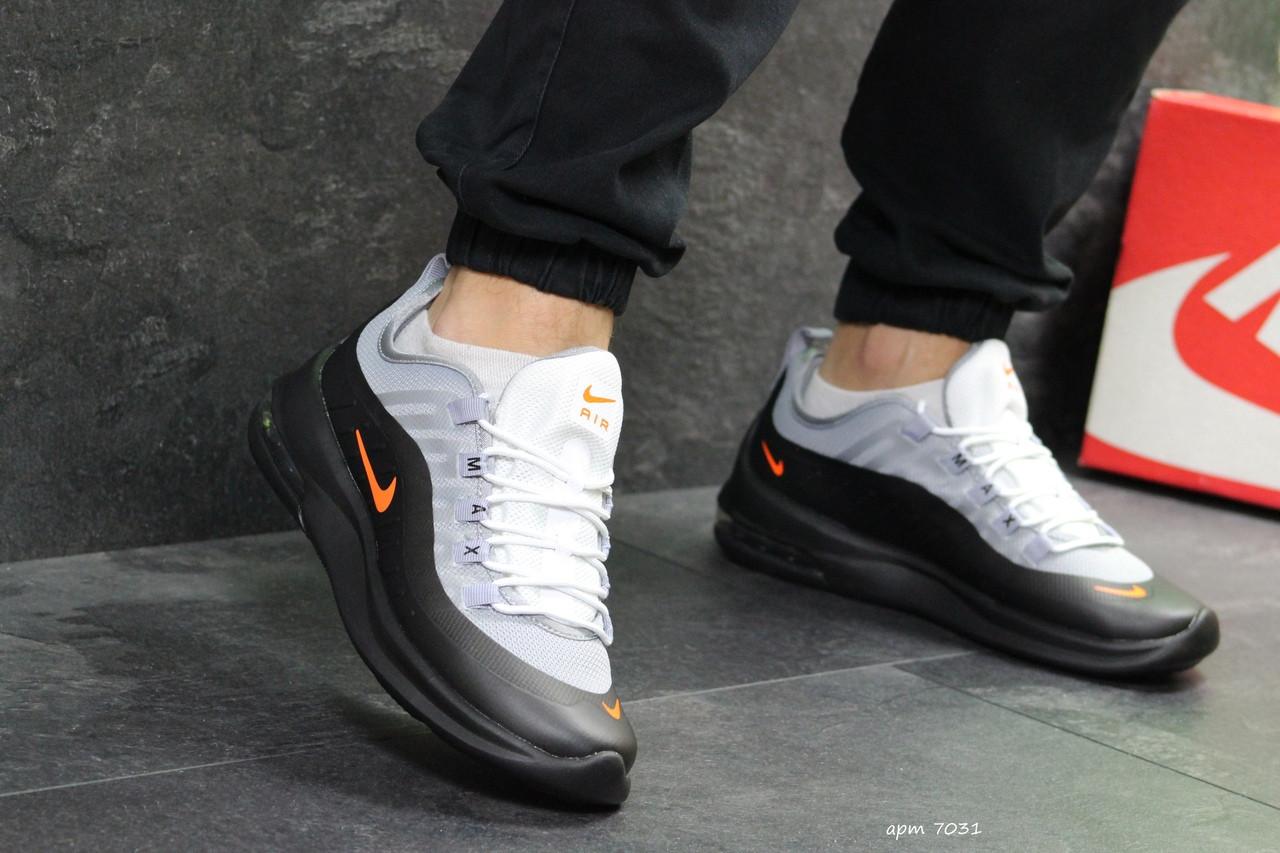 81e40999 ... Мужские кроссовки черные с серым Nike Air Max Axis 7031 (nike кроссы  мужские беговые air ...