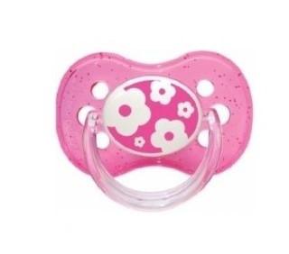 Латексная круглая пустышка Canpol Babies Nature, 0-6 мес., розовый (22/606 Розовый)