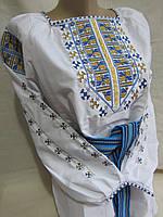 Вышиванка женская 44 размер, поплин, 520/450 (цена за 1 шт. + 70 гр.)