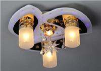 Люстра с пультом и светодиодной подсветкой  80855/3+1 Ф450 WT+GD