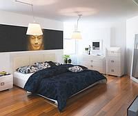 Кровать с подъемным механизмом «Karat White»
