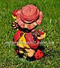 Садовая фигура Лесной жучок, Мотылек с клубникой и Майя средняя, фото 5