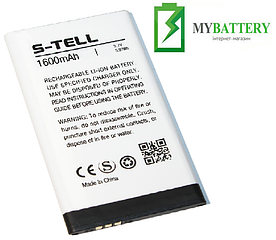 Оригинальный аккумулятор АКБ (Батарея) для S-Tell S5-02 1600 mAh 3.7V