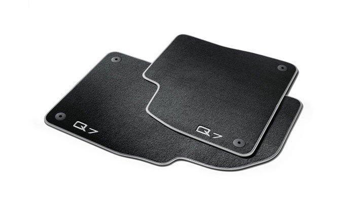 Оригинальный комплект текстильных ковриков салона Audi Q7 4M (4M1061270MNO)