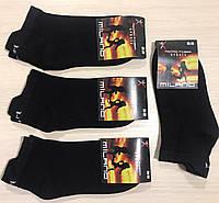 Носки женские демисезонные спортивные микрофибра MILANO Турция размер 35-39 чёрные, фото 1