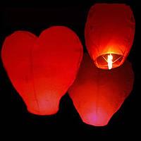 Небесный китайский летающий фонарик желаний, Сердце