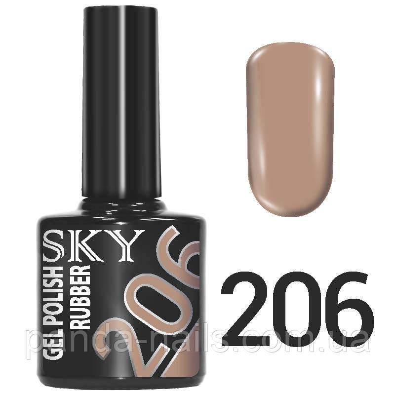 Гель лак SKY 206