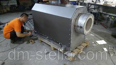 Наше производство газогенераторных пеллетных горелок