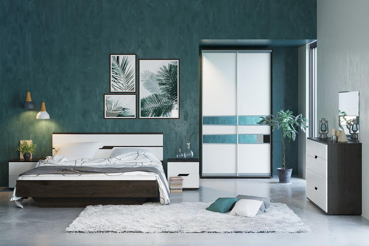Спальня со шкафом купе МАРИЯ  (Світ Меблів)