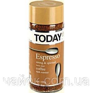 Кофе растворимый Today Espresso  100 гр