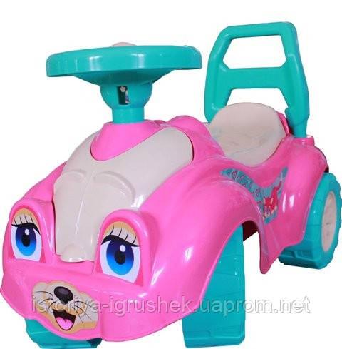 Машинка каталка для прогулок Кошечка (0823)