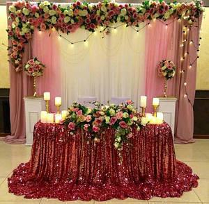 Президиум на свадьбу для жениха и невесты