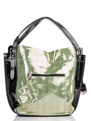 Женская кожаная сумочка Velina Fabbiano 37147-3, фото 2