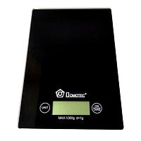 Электронные кухонные весы Domotec MS-912 до 5 кг, черные, фото 1
