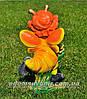 Садовая фигура Мотылек с розой, Мотылек с арфой и Мотылек с лилией, фото 6