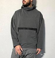 Чоловіче худі KA2119 сіре, фото 1