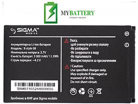 Оригинальный аккумулятор АКБ (Батарея) для Sigma 3Sim GSM/ X-style 68 3000 mAh 3.7V