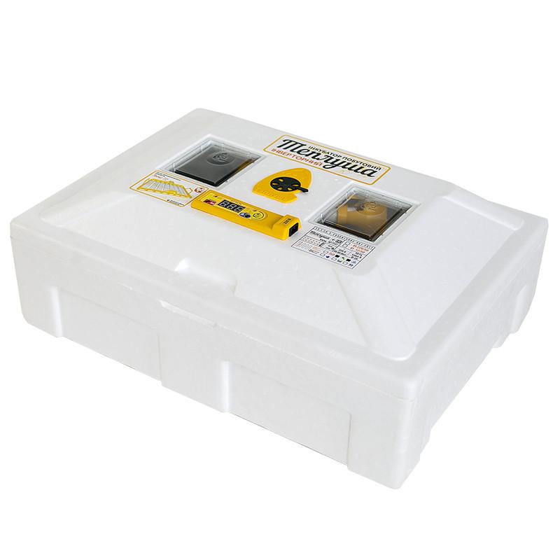 Инкубатор автоматический Инверторный Теплуша Люкс 72 (ламповый+влагомер)