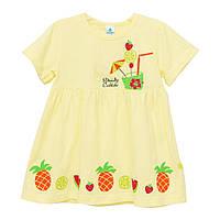 Платье для девочки 9-24 мес желтый летний Minikin 172202