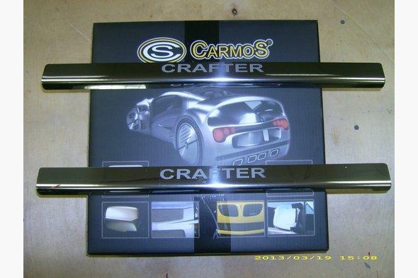 Накладки на пороги Laser (2 шт, сталь) Volkswagen Crafter 2006-2017 гг.