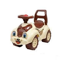 Машинка каталка Автомобиль для прогулок Бурундук (2315)