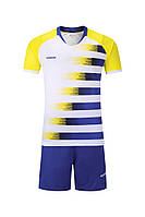 Футбольная форма игровая Europaw 021 (сине-желтая)