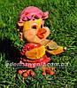 Садовая фигура Утенок дровосек, Утенок путешественник и Цыпа скрипач, фото 4