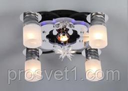 Люстра с пультом и светодиодной подсветкой 81325/4+1