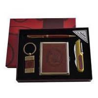 YJ 6420 портсигар/нож/ручка/брелок кожа Украина, качественный товары,сувениры для мужчин