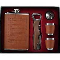 Подарочный набор 10 алкогольных заповедей GT-315, качественный товары,сувениры для мужчин