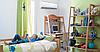 Кондиционер в детской комнате. Кондиционер и ребенок.
