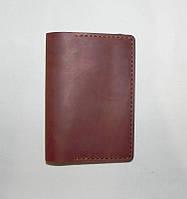 Обложка на паспорт (документы) цвет Коричневый